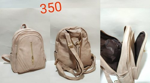 Ladies Plain Backpack (Capacity 3kg)