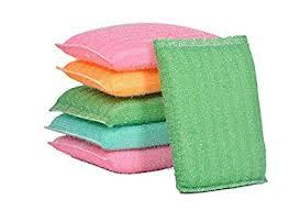 Multi Color Foam Pad Scrubber