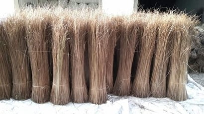Floor Brown Coconut Broom Application: Home Cleaning