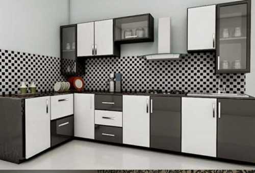Brown Customized Plywood Modular Kitchen at Price 50000 ...