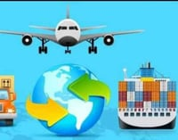 Freight Forwarding Air And Sea Cargo Service