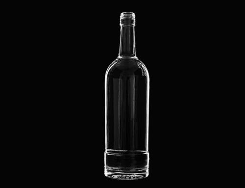 Transparent Glass Bottles For Liquor With Cork