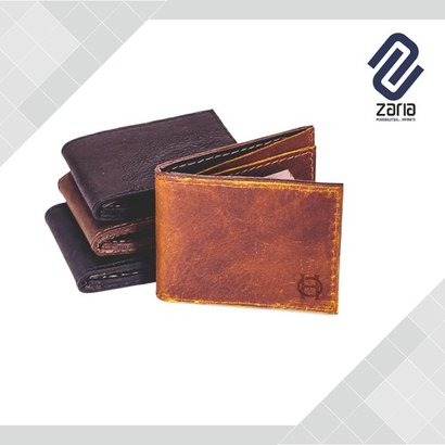 Various Colors Are Available Mens Plain Pattern Wallet