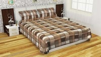 Woolen Bedsheet With 2 Pillow Covers