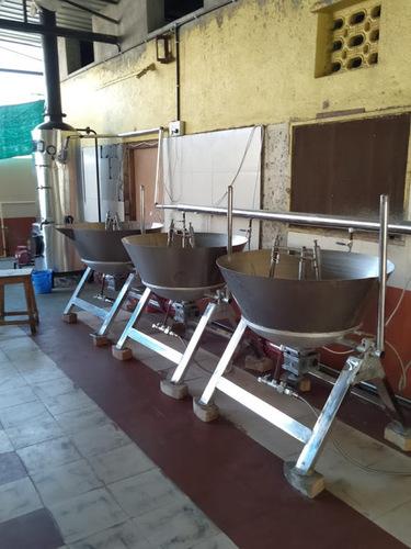 Automatic Steam Based Khoya Making Plant