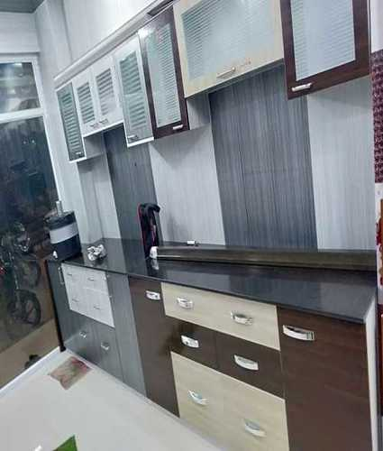 High Strength Pvc Modular Kitchen At