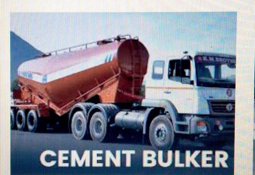 Bulk/loose Cement and Fly Ash Transportation Services