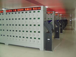 Intelligent Charging Cabinet For Miners Cap Lamps