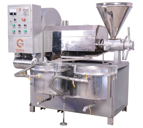 Peanut Oil Expeller Machine