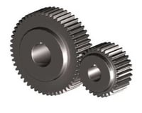 Powder Coated Sprocket Gear
