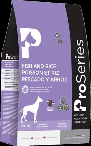 Proseries Holistic Fish And Rice Ultra Health Pet Food Application: Dog