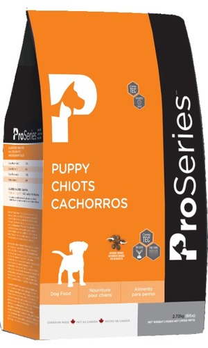 Proseries Puppy Ultra Health Pet Food (Made In Canada) Application: Dog