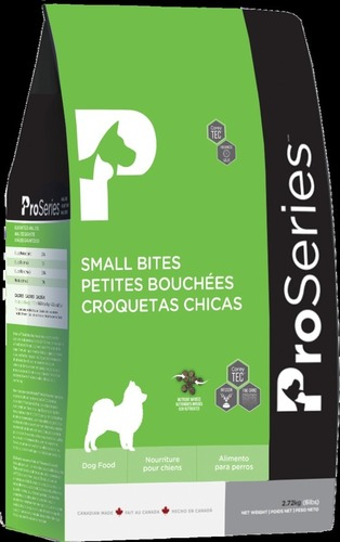Proseries Small Bites Ultra Health Pet Food Application: Dog