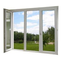 Grey Upvc Casement Windows