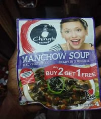 Real Vegetables Manchow Soup