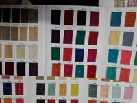 Plain Dyed Cotton Fabric for Bedding, Bedsheet, Cushions, Shirting