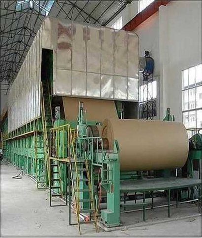 Waste Paper Recycling Machine Capacity: 2-3 T/Hr