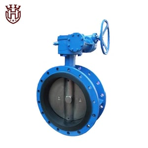 Double Flanged Concentric Butterfly Valve