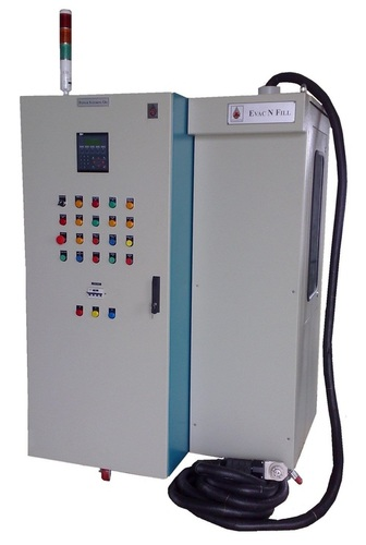 Evacuation Based Power Steering Oil Dispensing System