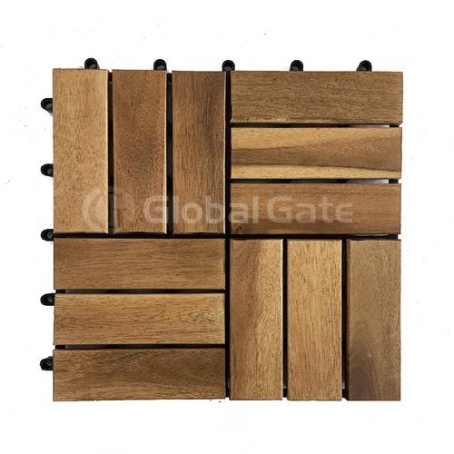 Designer Wood Deck Tiles