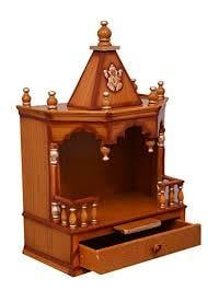 Designer Wooden Temples For Home And Office