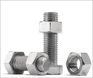 Mild Steel Nut And Bolts
