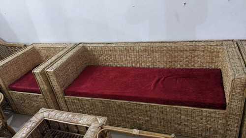 Uv Resistant Cane Sofa Set For, Bamboo Sofa Set