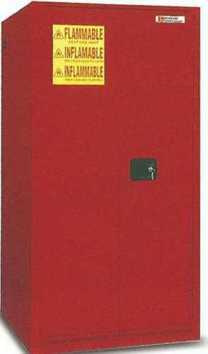 Red Dust Proof Fire Proof Safety Cabinet