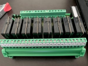 Relay Module with 4/8 Miniature Relays