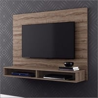 Wooden Wall Mounted LCD Unit