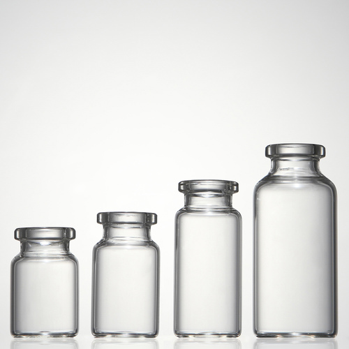 Clear Medicine Glass Vials