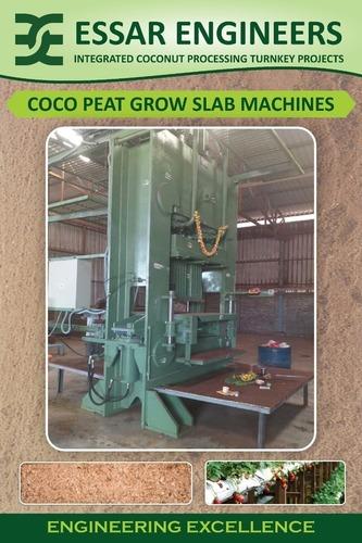 Coir Pith Grow Slab Making Machine