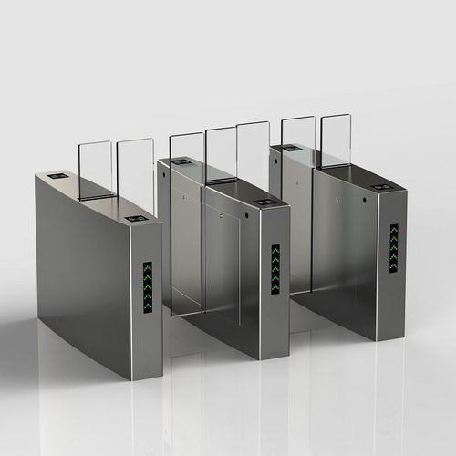 Electric Sliding Security Entrance Control Turnstile Gates For Doors