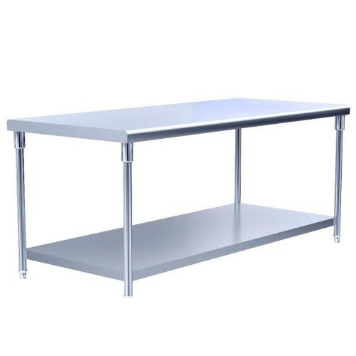 Stainless Steel Double-Deck Worktable