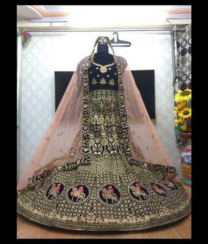 Bridal Embroidery Lehenga
