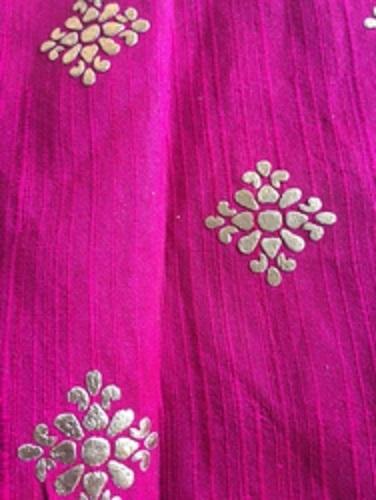 Leather Foil Binder for Textile Printing