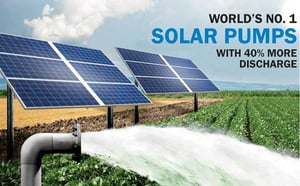 Solar Water Pump For Agricultural Use