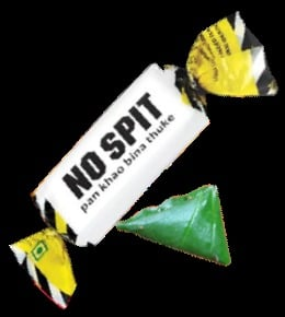 No Spit Paan Toffee