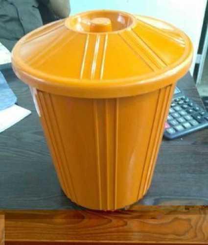 Round Plastic Garbage Dustbin