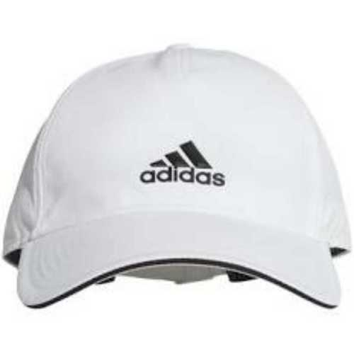 White Color Adidas Cap Material: Cotton
