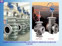 High Performance Fabricated Gate Valves