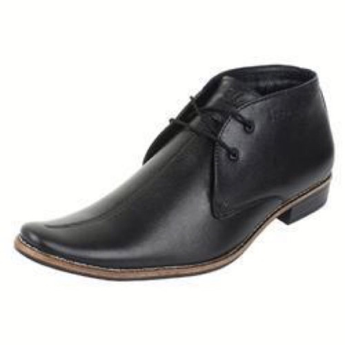 Black Men Low Ankle Formal Shoes