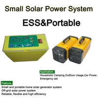 Portable Power Storage System for Camping