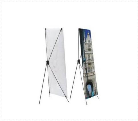 Adjustable X Banner Stand