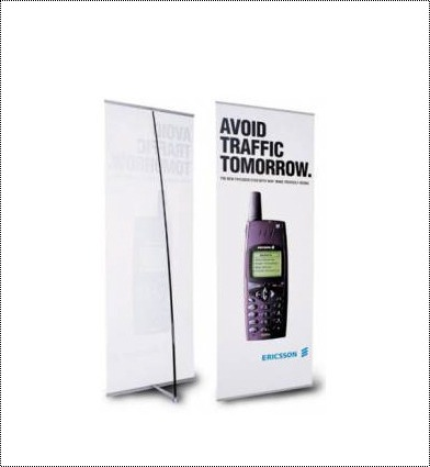 L Type Banner Stand