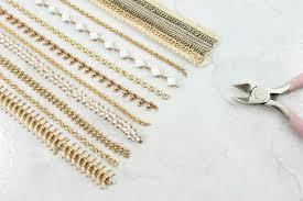 Step Cut Gold Chains