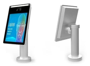 8-Inch Fast Speed Biometrics Facial Recognition Terminal with Touch Screen