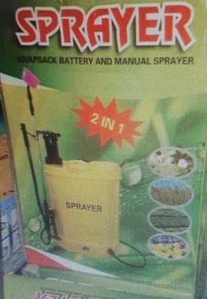 Battery Sprayer For Agriculture Spraying