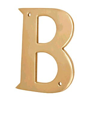 Brass Letters Plates
