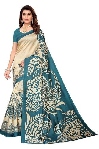 Designer Kalamkari Mysore Silk Saree